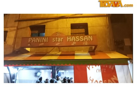tidama Restaurant:Panini Star Hassan